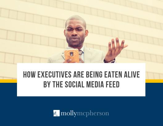 executive social media