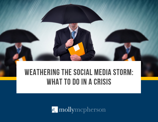 Weathering the Social Media Storm