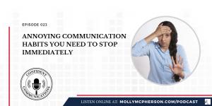 annoying communication habits