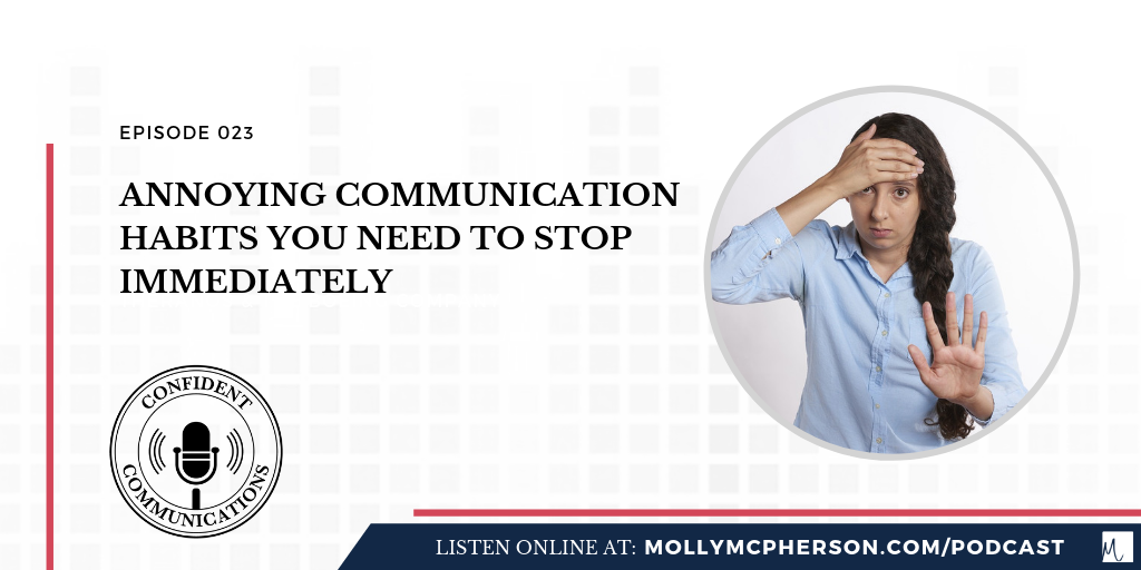 annoying communication habits