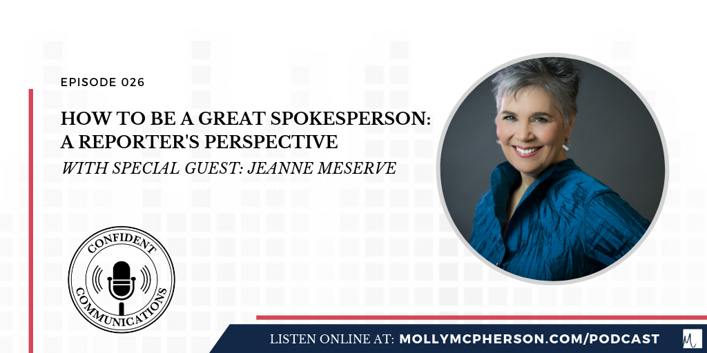 How to Be a Great Spokesperson: A Reporter's Perspective