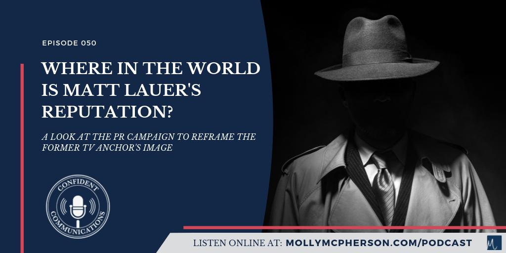 Where in the World is Matt Lauer's Reputation?