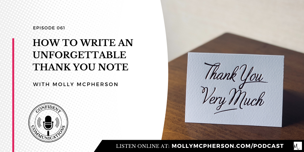 How to Write an Unforgettable Thank You Note