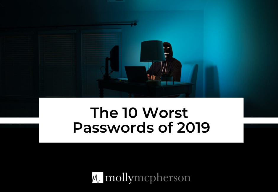 The 10 Worst Passwords of 2019