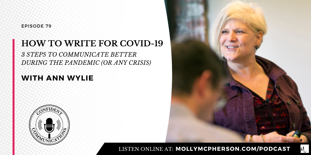 How to Write During COVID-19: 3 Steps to Communicate Better During the Pandemic