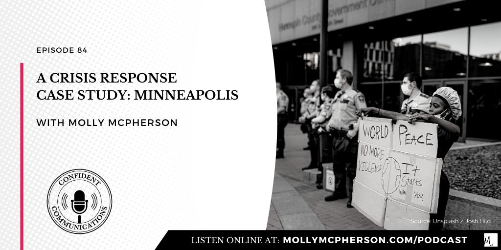 A Crisis Response Case Study: Minneapolis