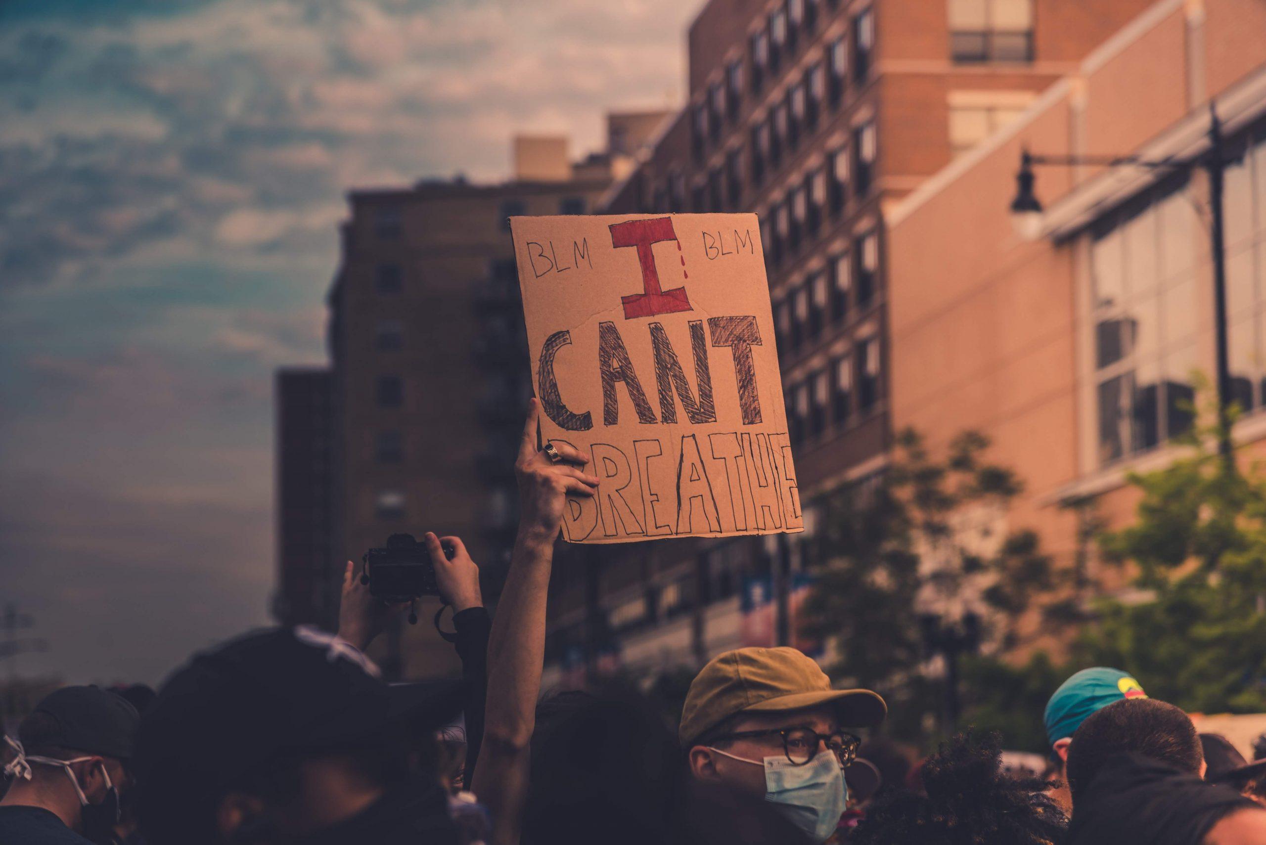 I can't breathe minnepolis protest