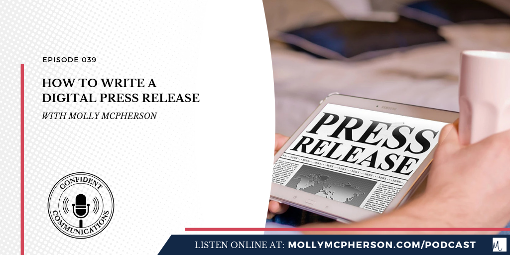 How to Write a Digital Press Release - Molly McPherson