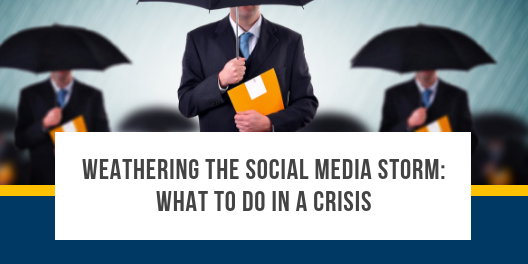 social media storm: what to do in a crisis