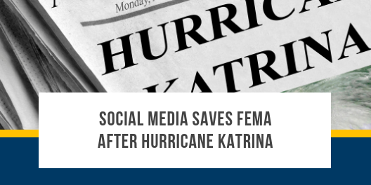 Social Media Saved FEMA